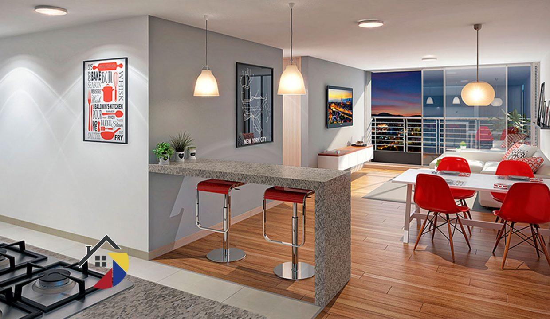 cocina-sala-aragoncastilla-apartamento