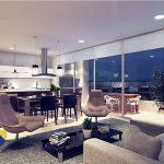 sala1-cocina-apartamento-saona-cali