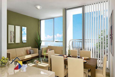 sala-comedor-labahia-apartamento-barranquilla