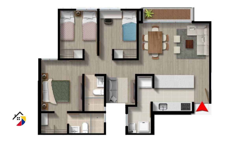 Senderos_de_Modelia_apartamentos_en_Bogota_Gestiglovar